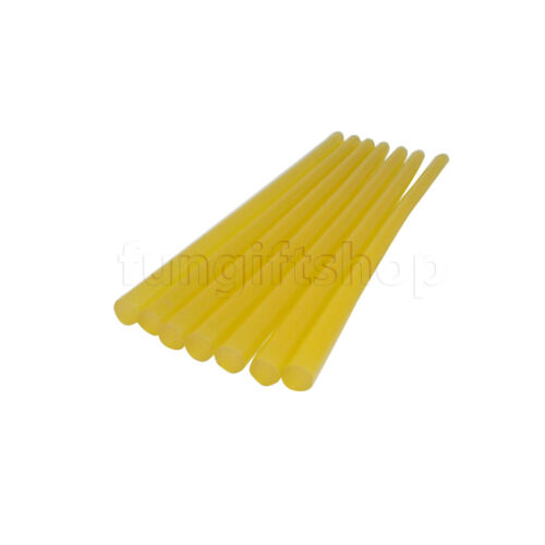 Hot melt glue Sticks 11mm x 270mm LOT Hobby DIY Art work Yellow Black Craft LOT