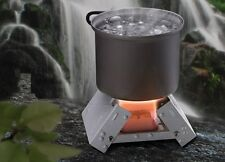 New Esbit Compact Lightweight Solid Fuel Camp Stove - Perfect for Backpackers!