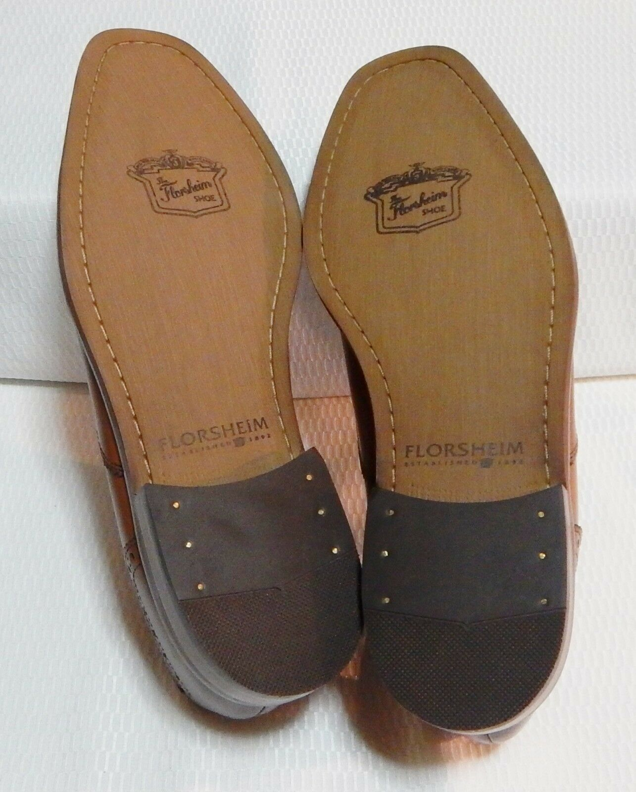 FLORSHEIM CASTELLANO MOC TOE SZ CASUAL SLIP-ON LOAFER MEN'Schuhe(Tan) SZ TOE 11.5#2210-1 235b3a