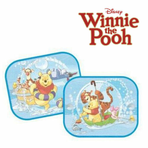 2 x Disney Winnie the Pooh /& Friends Car Window Sun Shades UV Visor for Kids