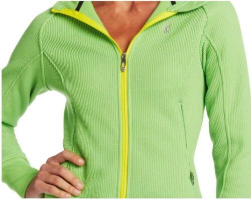 Spyder Womens Ardent Midweight Core Sweater Jacket hooded fleece coat S-XL NEW
