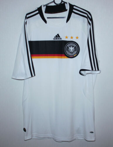 Germany National m home shirt 0809 Adidas Size XL
