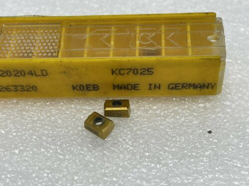 KC7025 New Kennametal Carbide Inserts DFR020204LD 10 Details about  /Pack Of