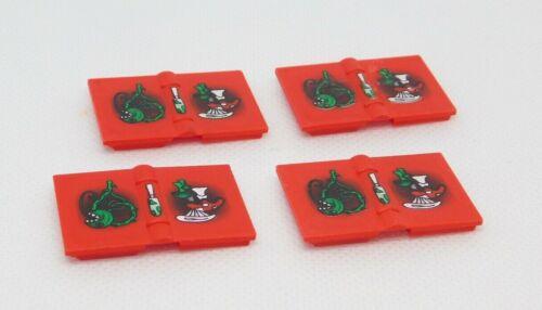 LEGO UTENSILS FOR MINIFIGURES HARRY POTTER SPELL BOOKS MISC.
