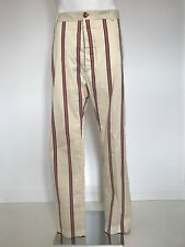 Very Rare Stunning Vivienne Westwood MAN Label College Stripe Boating Trousers