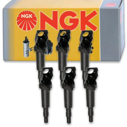 6 pcs NGK 49010 Ignition Coil for U5009 E1022 49010 IC602 UF522 Spark Plug oe