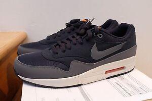cd0e7633361d Image is loading Nike-Air-Max-1-Essential-Dark-Obsidian-Orange-
