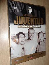 LA GRANDE STORIA DELLA JUVENTUS DVD N°2 NUOVO SIVORI CHARLES E BONIPERTI