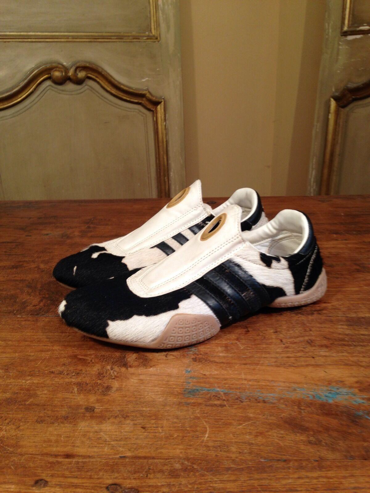 la fourrure des chaussures baskets adidas os baskets chaussures taille 8 propre!rare! 098bdf