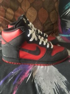 promo code 2496f 999f2 Image is loading Nike-Dunk-High-Ultraman-Red-Anthracite-Grey-White-