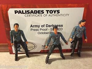 Prototype-Test-Shot-Palisades-Army-of-Darkness-Suncoast-Evil-Ash-w-COA-X203