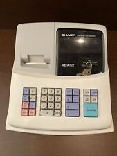 Sharp Electronic Cash Register Model Xe A102 Cash Drawer With Key
