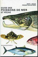 GUIDE DES POISSONS DE MER ET PÊCHE - Delachaux & Niestlé 1988