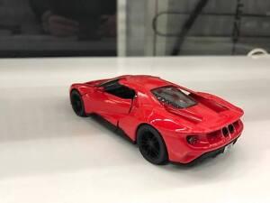 Image Is Loading  Ford Gt Red Toy Car Model Kinsmart