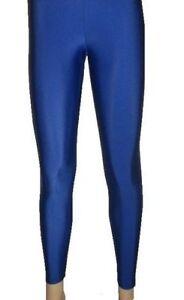 4089e5abb3c3 Royal Blue Leggings, Dark Blue legging, Fancy Dress Outfit Size 8-22 ...
