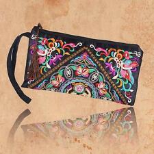 Women Ethnic Handmade Wristlet Clutch Bag Purse Wallet embroided butter Handbag
