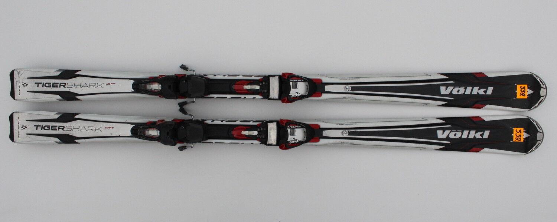 Volkl Tigershark, 10 pies, 161 centímetros, señal de esquí, deslizamiento rápido n339.
