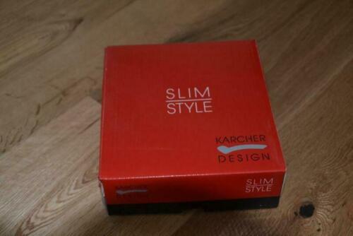 Original Karcher Türgriff Garnitur Edelstahl matt Slim Style E300D Bad 71 WC-Ro