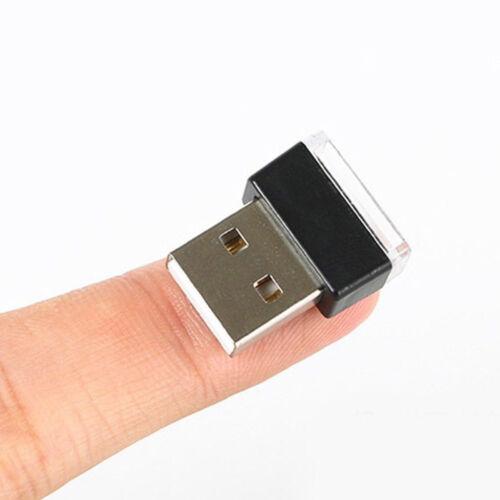 1x Flexible Mini USB LED Light Colorful Light For Car Atmosphere Lamp Bright