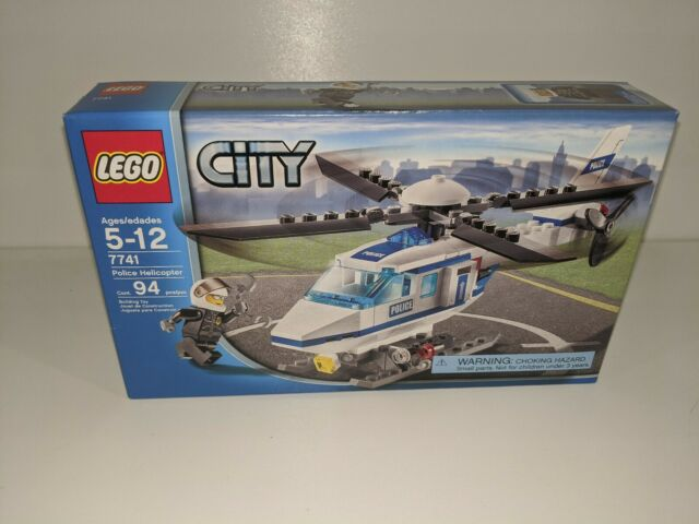 Lego City #7741 Police Helicopter Sealed Box