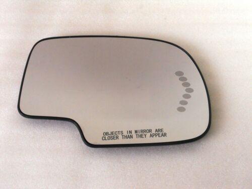 S-ARHS HEATED TURN SIGNAL FOR mirror glass Silverado Suburban Avalanche Tahoe