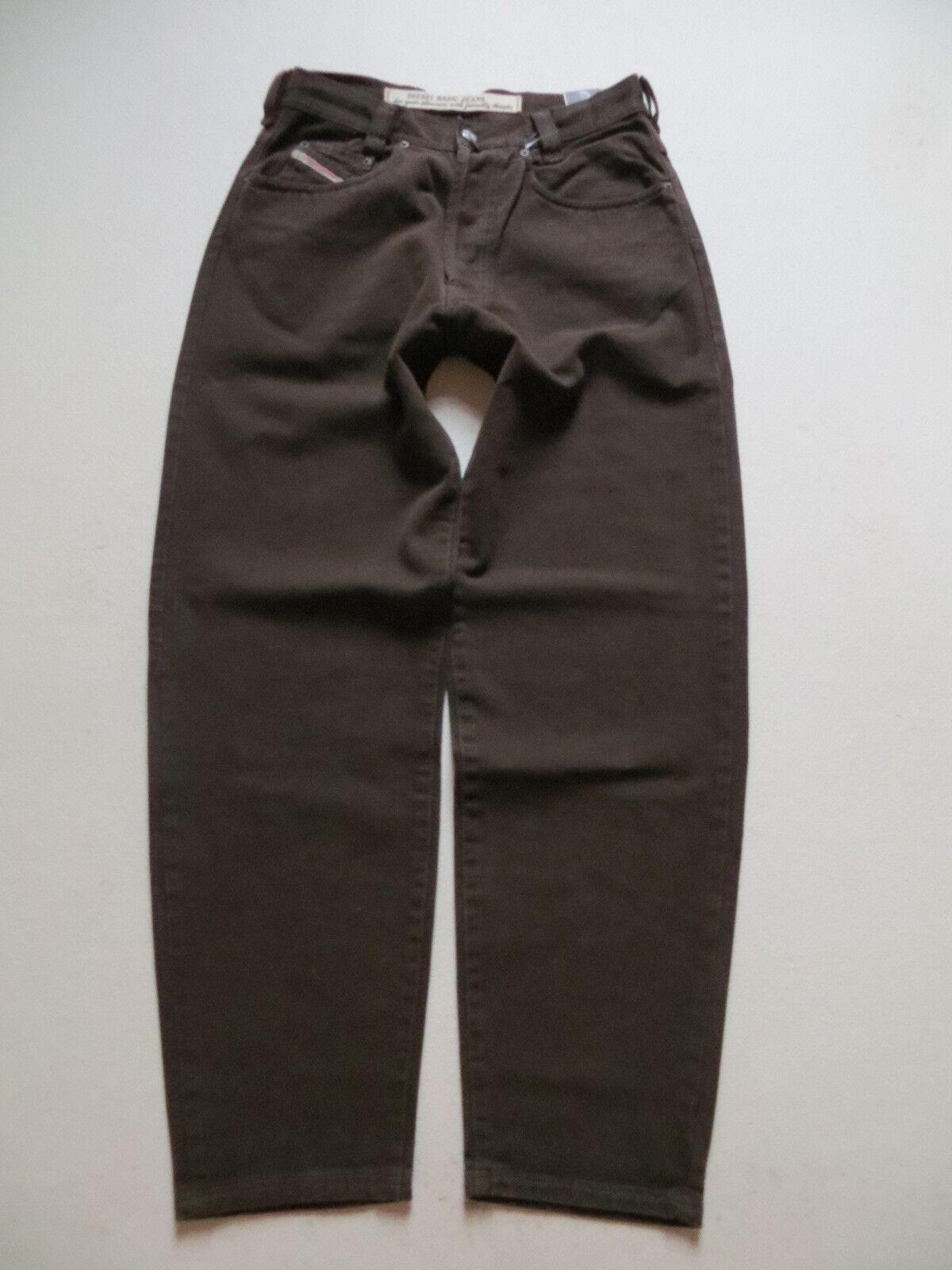 Diesel Saddle Jeans Hose W 30  L 32, NEU   Kupfer Sattel, weiter Oberschenkel