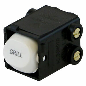 GRILL-Printed-Switch-35-Amp-Double-Pole-Switch-Mech-CLIPSAL-Compatible