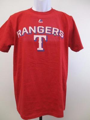 New-minor-flaw Texas Rangers Herren GrÖsse M-l Rot Majestic Shirt Modischer Stil; In