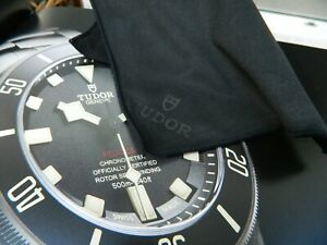 100-Genuine-Black-Rolex-Tudor-Polishing-Storage-Cloth-New-Condition