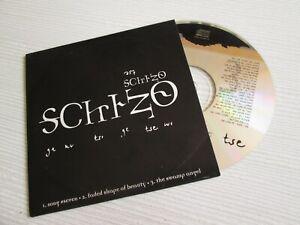 SCHIZO-Nero-CD-EP-CARDSLEEVE-RARE-ITALIAN-BLACK-THRASH-METAL