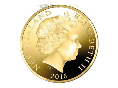 $1 Dollar Hector/'s Dolphin Gold Proof Coin New Zealand 2016 Sold out