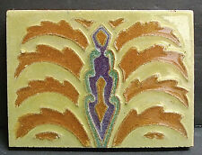 Solon and Schemmel Geometric Tile S & S Art Deco
