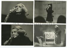 Bette Davis - 4 Peter Warrack Vintage Candid Photographs