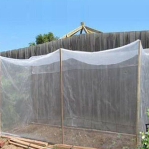 CW/_ Super Fine Greenhouse Vegetable Garden Anti Bugs Insect Bird Mesh Net Cover
