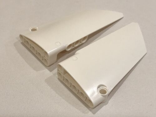LEGO Technic White Curved Fairing Panel 5x11 Part no 64392 64682 NEW BB1C
