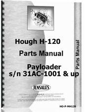 Hough H 120 Payloader Parts Manual Catalog 31ac 1001 Amp Up