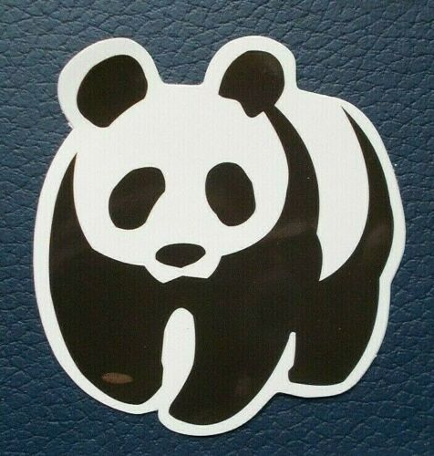 "Sticker Aufkleber /""Panda/"" Glanz-Optik Stickerbomb Skateboard Laptop"