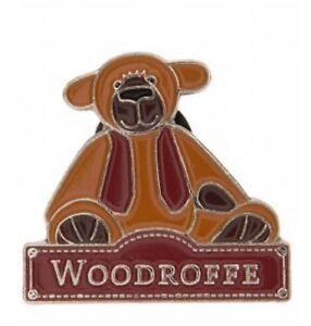 Dolls & Bears Artist Faithful Alice's Bear Shop Charlie Bears Pin Badge Woodroffe
