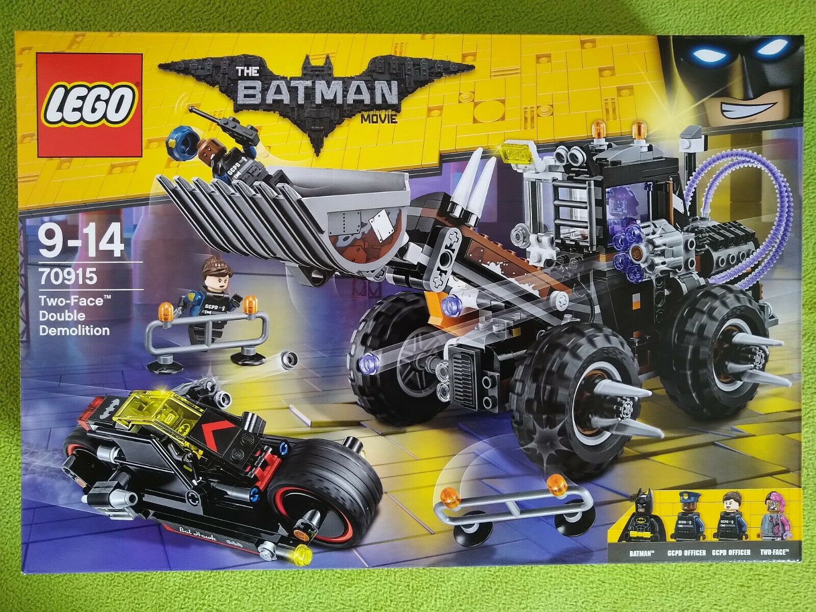 LEGO The Batman Movie 70915 Two-Face Double Demolition NEW Sealed
