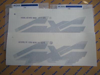2004-2008 Ford F-150 RH or LH Tri-color STX 4x4 Bedside DECAL new OEM