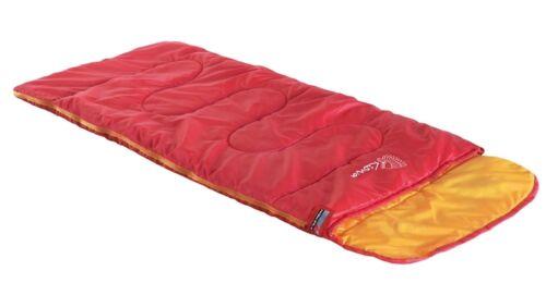 High Peak Kiowa Kinder Deckenschlafsack RV links Schlafsack red orange 23038