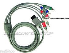 Nuevo de alta calidad chapado en oro componente HD AV TV Cable De Video Para Nintendo Wii