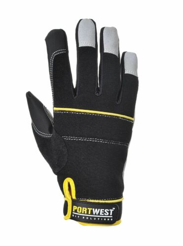 Portwest A710 Tradesmen High Performance Grip Glove with Knuckle Padding ANSI