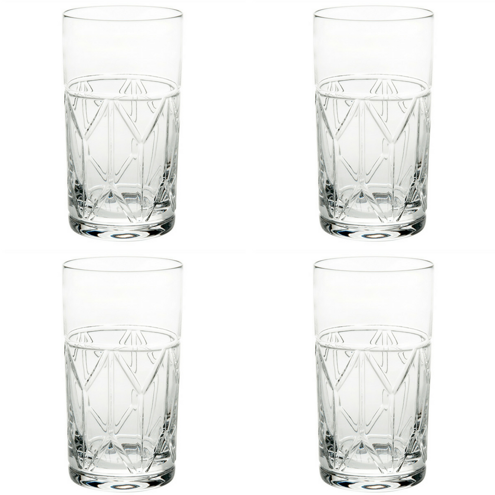 Vista Alegre Atlantis Avenue Highball - Set of 4