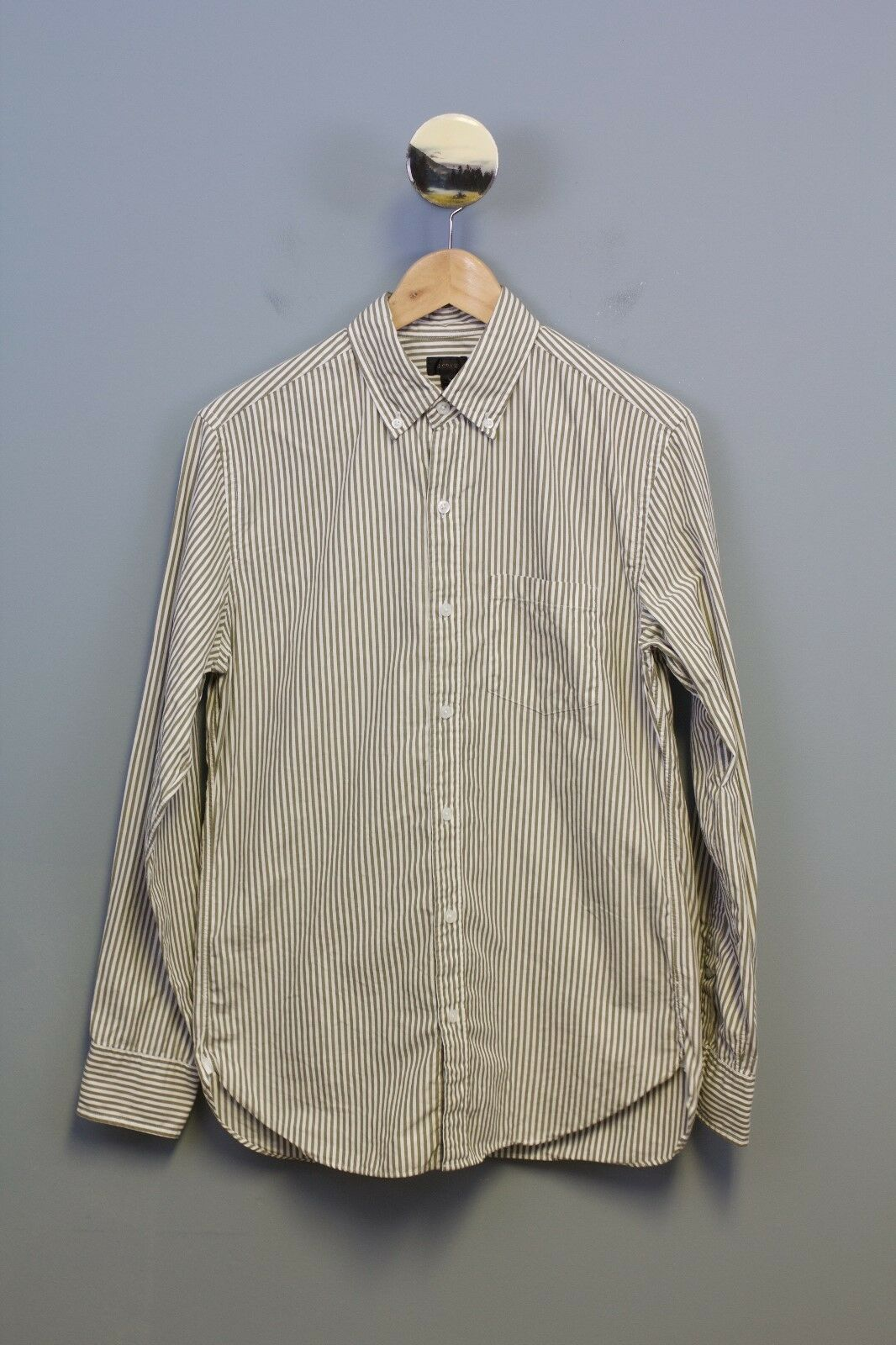 J Crew Men's Secret Wash Long Sleeve Shirt Size Small Retail  Item B4315