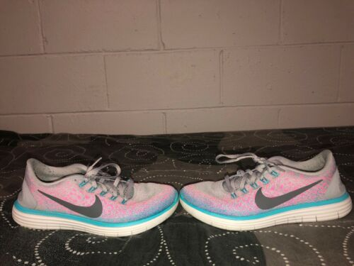 Azul Nike o correr Womens Rn Zapatillas Gris Distance de Free Athletic 7 Rosa Tama OWpOqwArz