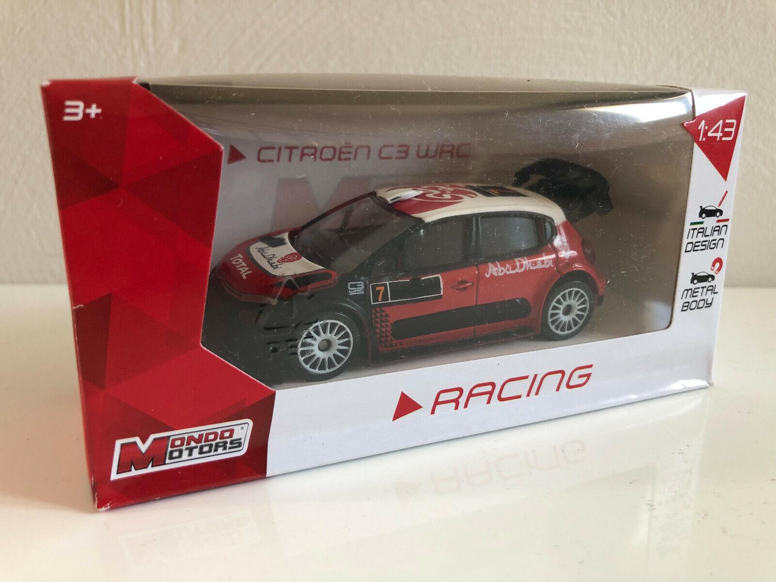 Voiture Miniature Racing Citroën C3 Wrc 1 43 Collection Neuf