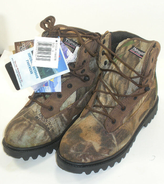 Proline H900TB-7 6  Camo Insulated Boots Size 7 3063