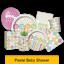 Baby-Shower-Festa-intervalli-Nuovo-Bambino-Stoviglie-Palloncini-Striscioni-amp-Decorazioni miniatura 9