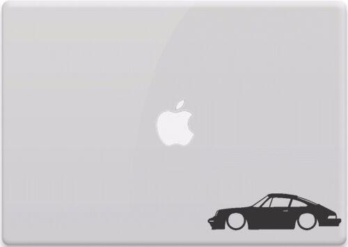 Porsche 911 Outline Car Window Sticker Vinyl Decal MacBook Aircooled 930 964